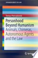Personhood Beyond Humanism