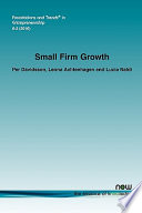 Small Firm Growth