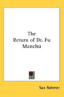 The Return of Dr  Fu Manchu