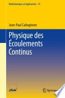 illustration Physique des Écoulements Continus