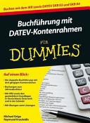 Buchf  hrung mit DATEV Kontenrahmen f  r Dummies