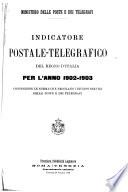 Indicatore postale telegrafico del regno d Italia