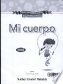 13497  LLL Mi Cuerpo  My Body  Spanish Teacher Guide Book