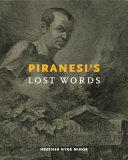Piranesi's Lost Words : battista piranesi