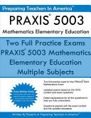 Praxis 5003 Mathematics Elementary Education