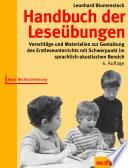 Handbuch der Lese  bungen