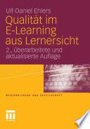 Qualität im E-Learning aus Lernersicht