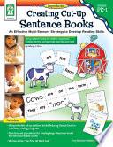 Creating Cut Up Sentence Books  Grades PK   1