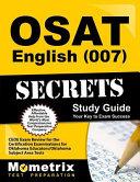 Osat English  007  Secrets Study Guide