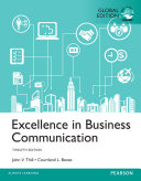 Excellence in Business Communication  Global edition