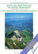 illustration du livre Dans les montagnes de Suisse romande