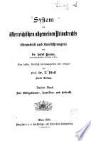 Bd. Das Obligationen-, Familien- und Erbrecht