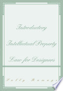 Introductory Intellectual Property Law for Designers