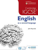 Cambridge Igcse English As a Second Language Book Cover