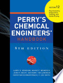 PERRY S CHEMICAL ENGINEER S HANDBOOK 8 E SECTION 12 PSYCHROMETRY EVAPO     POD