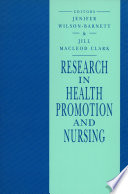 Research In Health Promotion And Nursing