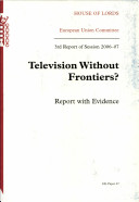 Television Without Frontiers?