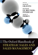 The Oxford Handbook of Strategic Sales and Sales Management