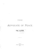 Advocate of Peace Through Justice