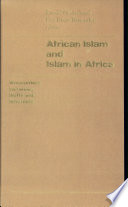 African Islam and Islam in Africa