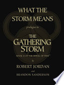 What The Storm Means Prologue To The Gathering Storm