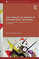 The Conduct of Inquiry in International Relations