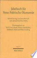 Globalisierung, Systemwettbewerb und nationalstaatliche Politik