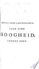 Dichtkundige Lauwerbladen  gestrooid voor     Willem Karel Hendrik Friso  Prinse te Oranje