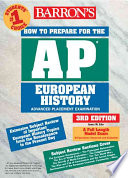 Barron s how to Prepare for the AP European History Advanced Placement Examination