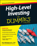 High Level Investing For Dummies Book