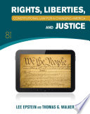Constitutional Law  Rights  Liberties and Justice 8th Edition