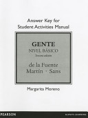 Answer Key for Student Activities Manual for Gente  Nivel Basico