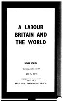 A Labour Britain and the world