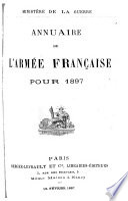 Annuaire officiel de l'armée française