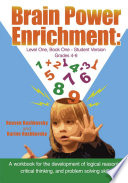Brain Power Enrichment  Level One  Book One   Student Version