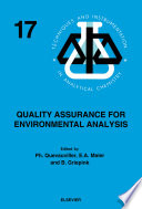 Quality Assurance For Environmental Analysis book