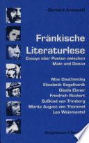 Fränkische Literaturlese