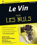 Le Vin  7e   dition Pour les Nuls