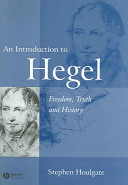An Introduction To Hegel book