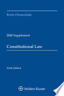 Constitutional Law Sixth Edition