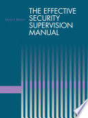 The Effective Security Supervision Manual