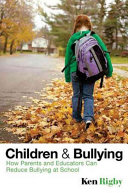 Children and bullying Bullying Or Recommendations For Quick Fixes