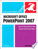 Microsoft Office PowerPoint 2007 for Windows