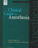 Clinical Cases In Anesthesia