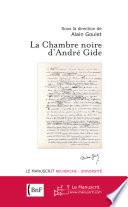 illustration du livre La chambre noire d'André Gide