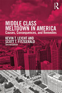 Middle Class Meltdown in America Book