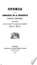 Storia della abbaz  a di S  Michele della Chiusa   Appendice