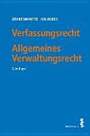 Verfassungsrecht  Allgemeines Verwaltungsrecht