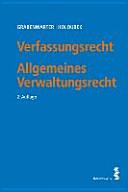 Verfassungsrecht. Allgemeines Verwaltungsrecht