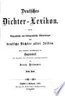 Deutsches Dichter-Lexikon